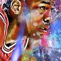 Mj Painted by Daniel Janda