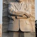 Mlk Memorial In Washington Dc by Brendan Reals