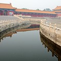 Moat Forbidden City Beijing by Thomas Marchessault