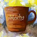 Mocha Coffee Cup by Jai Johnson