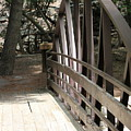 Mocha Colored Walking Bridge In American Fork Canyon Utah by Colleen Cornelius