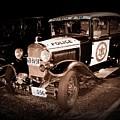 Model A Culver City Police Bw by David Dunham
