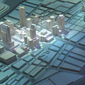 Model City 2 by Randall Weidner