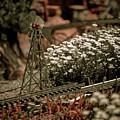 Model Railroad Windmill by Marilyn Hunt