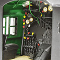 Model Steam Locomotive by Pat Turner