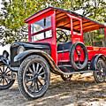 Model T Delivery by Chas Sinklier