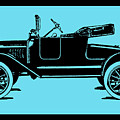 Model T Ford Roadster Pop Blue by David King