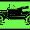 Model T Ford Roadster Pop Green by David King