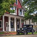 Model T On Main Street by Mark Miller