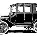 Model T Sedan Tee by David King