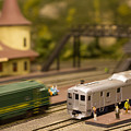 Model Trains by Patrice Zinck
