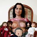 Model With Porcelain Dolls by Ilan Rosen