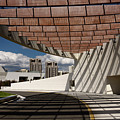 Modern Architecture Of Ismaili Centre Entrance With Aga Khan Mus by Reimar Gaertner
