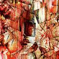 Modern Batik Contemporary Abstract Art by Isabella Howard
