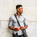 Modern College Student In New York by Alexander Image