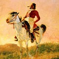 Modern Comanche 1890 by Remington Frederic