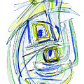 Modern Drawing Forty by Lynne Taetzsch