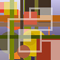 Modern Harmonious Abstract by Clive Littin