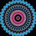 Modern Mandala Art 27 by Renati Rzdm