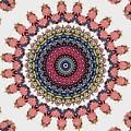 Modern Mandala Art 28 by Renati Rzdm