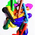 Modern Rainbow Art by Jorgo Photography - Wall Art Gallery
