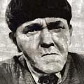 Moe Howard, Vintage Entertainer by Mary Bassett
