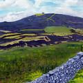 Moel Famau Hill Painting by Edward McNaught-Davis