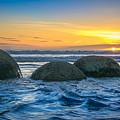 Moeraki Sunrise by Martin Capek