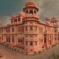 Mohatta Palace At Sunset by Syed Muhammad Munir ul Haq