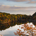 Mohonk Mountain House Lake by Alissa Beth Photography