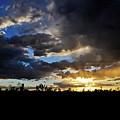 Mojave Desert Sunset by Kyle Hanson