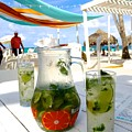 Mojitos On The Beach- Punta Cana by Jill King