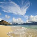 Mokulua Island Beach by Dana Edmunds - Printscapes