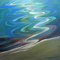 Molalla River Shore 1 by Pam Van Londen