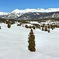 Molas Pass Snow Panorama by Adam Jewell