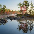 Molega Lake, Nova Scotia by Cenwyn Jones