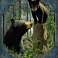 Mom And Cub Bear by JQ Licensing