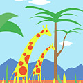Mom And Me Giraffes by Joe Lanni