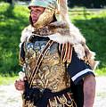 Watchful Roman Legionnary Soldier by Brenda Kean