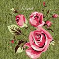 Mom's Day Elegance Vintage Rose by Rosa Maria Intorre