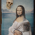 Mona In Playa by Angel Ortiz