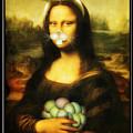 Mona Lisa Bunny by Gravityx9  Designs
