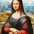 Mona Lisa Painting by Khodor Salame