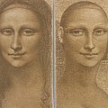 Mona Lisa Past And Present by Gary Kaemmer