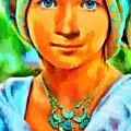 Mona Lisa Young - Da by Leonardo Digenio