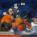 Mona Mona Savoureux by Paul Gauguin