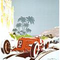 Monaco 6 Grand Prix 1934 by Nostalgic Prints