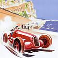 Monaco Grand Prix 1937 by Nostalgic Prints