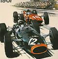 Monaco Grand Prix 1967 by Georgia Fowler