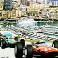 Monaco Grand Prix Racing Poster - Original Art Work by Thomas Pollart